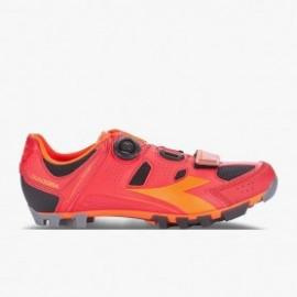Zapatilla Diadora MTB Vortex X Rojo/Naranja