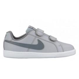 Zapatillas Nike Court Royale (Psv) gris/verde infantil