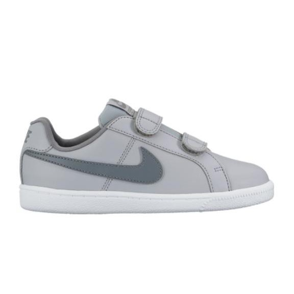 0eca2cfccf273 Zapatillas Nike Court Royale (Psv) Gris Verde Infantil - Deportes Moya