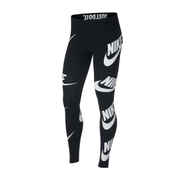 Mallas Nike Sportswear negro mujer