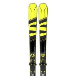 Packs esquí Salomon X-Max X10 + Xt12 amarillo