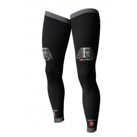 Pernera Compressport Full leg Negro