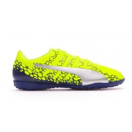 Zapatillas fútbol Puma EvoPower Vigor 4 TT amarillo junior