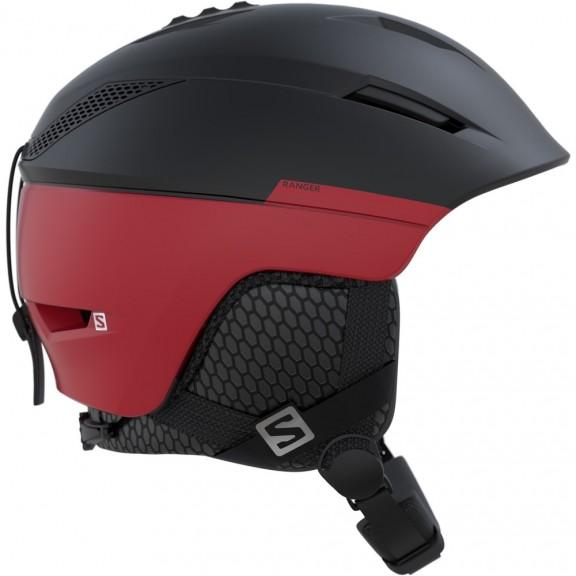 Casco Esquí Salomon Ranger2 negro rojo  hombre