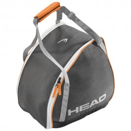 Bolsa botas Head  Boot Bag gris blanco naranja