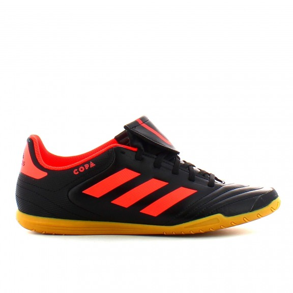 Botas de futbol sala adidas Copa 17.4 In negro/rojo hombre