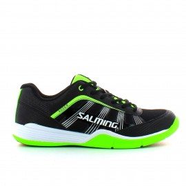 Zapatillas de balonmano Salming Adder negro/verde hombre