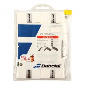 Overgrip Babolat Vs Original x 12 blanco