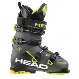 Botas esquí Head Vector Evo 130s anthracite black yellow