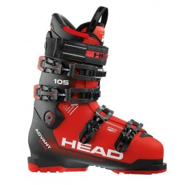 Botas esquí Head Advant Edge 105 red black  hombre