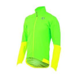 Impermeable Pearl Izumi Elite Wxb verde-amarillo hombre