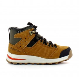 Botas travel Salomon Utility Ts CSWP marron niñ@