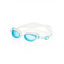 Gafas natación Speedo Aquapure blanco/azul mujer