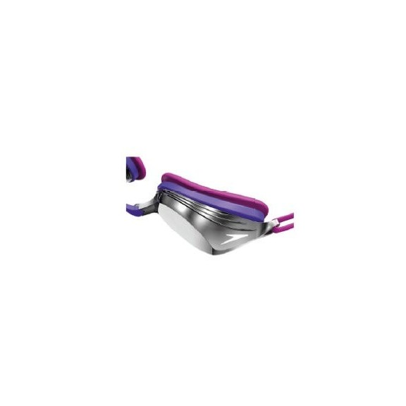 Gafas natación Speedo Vengeance Mirror rosa/violeta/plateado