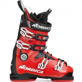 Botas esquí Nordica Sportmachine 110 negro rojo hombre