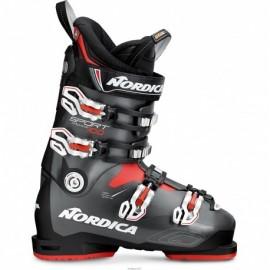 Botas esquí Nordica Sportmachine 100 negro antracita hombre