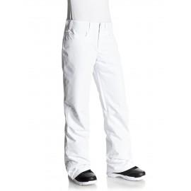 Pantalon esqui Roxy Backyard blanco mujer