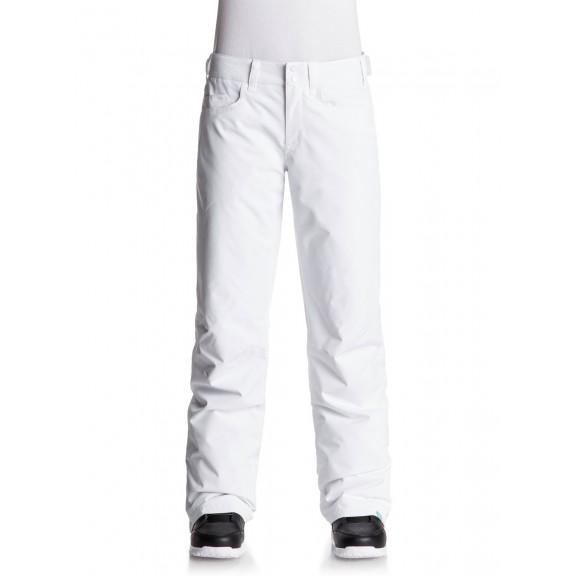 627359c9 Pantalon esqui Roxy Backyard blanco mujer