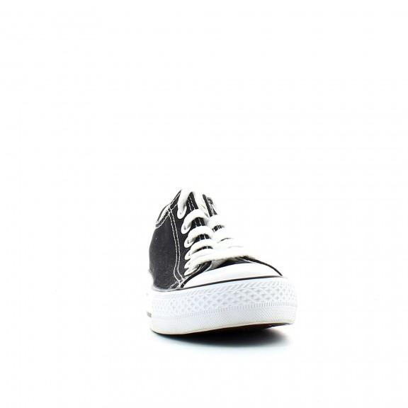 Zapatillas de lona Andy-z Basquet Classic negro mujer