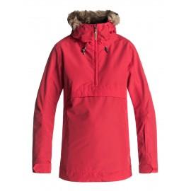Chaqueta nieve Roxy Shelter rojo mujer