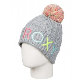 Gorro de lana Roxy Baylee gris niña