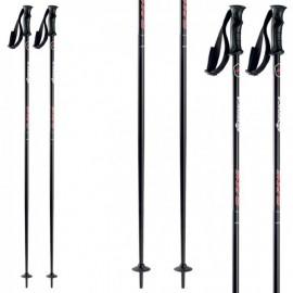 Bastones esquí Nordica Primo Uni  negro rojo