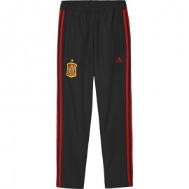 Pantalón adidas España FEF WOV PNT negro/rojo niño