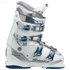 Botas esquí Nordica Cruise 55 W blanco azul mujer