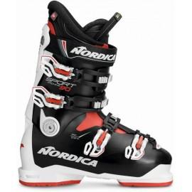 Botas esquí Nordica Sportmachine 90 blanco negro  hombre