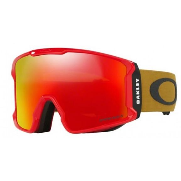 Mascara Oakley Line Miner red burnished iron prizm
