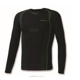Camiseta termica Brugi JG42 negro niñ@