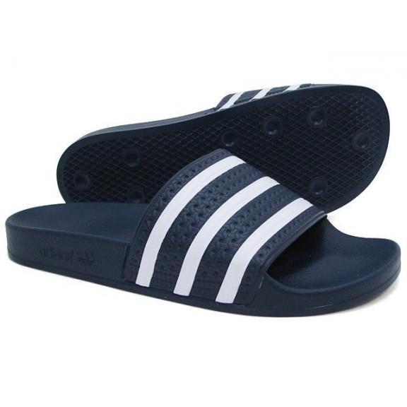 e90467fca Chancla de Piscina Adidas Adilette Marino Blanco Unisex - Deportes Moya