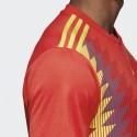 Camiseta adidas Selección Española roja hombre