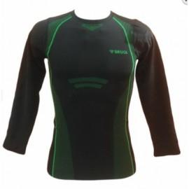 Camiseta termica Brugi R34L negro hombre