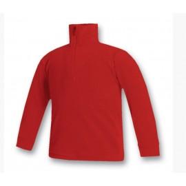 Jersey cuello polar Brugi YL2A rojo niñ@