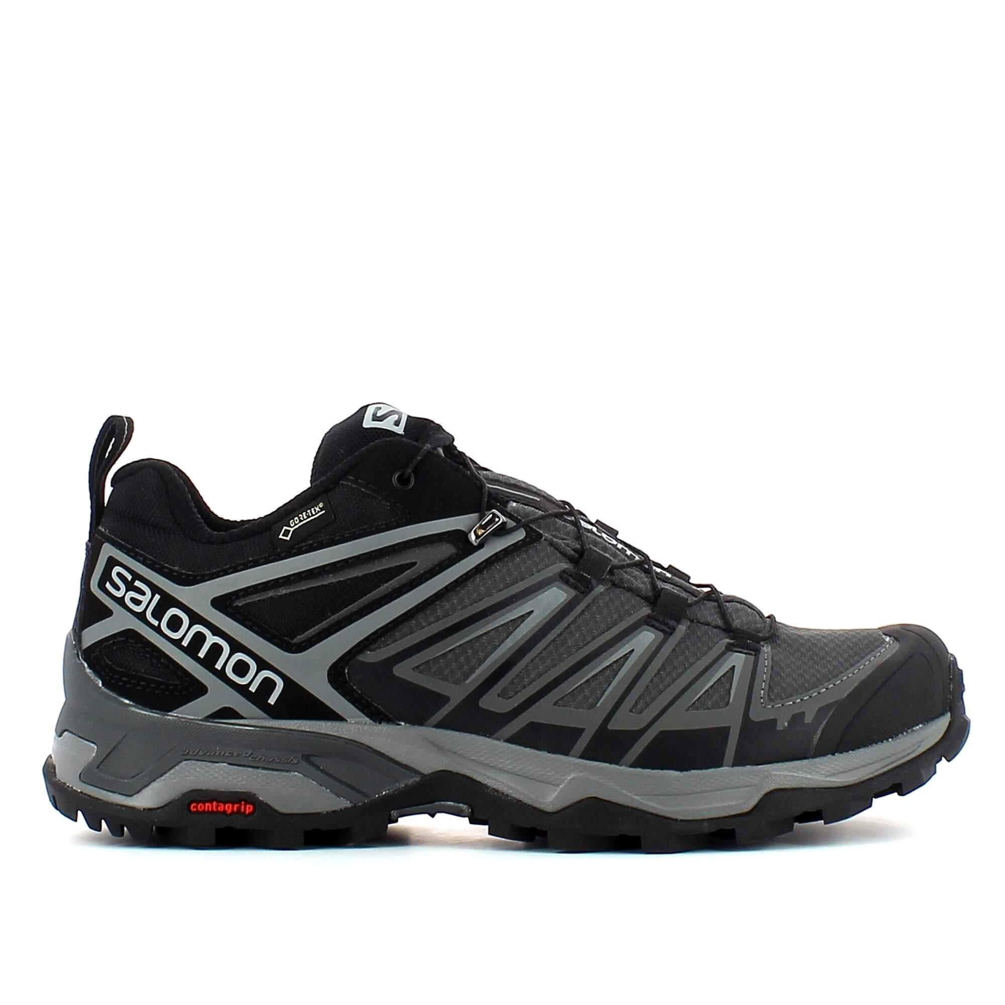 Zapatillas trekking Salomon X Ultra 3 GTX negra hombre ...