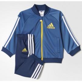 Chandal Adidas I Sp Shiny Trsu azul bebé