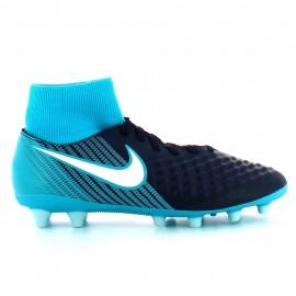Botas de futbol Nike Magista Onda II Df Ag-pro azul  hombre