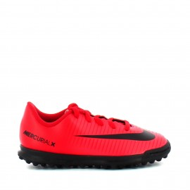Botas de futbol Nike Jr Mercurialx Vortex III Tf rojo junior
