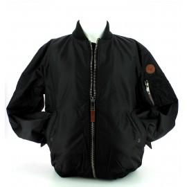 Cazadora Bomber Top Gun  nylon jacket negro