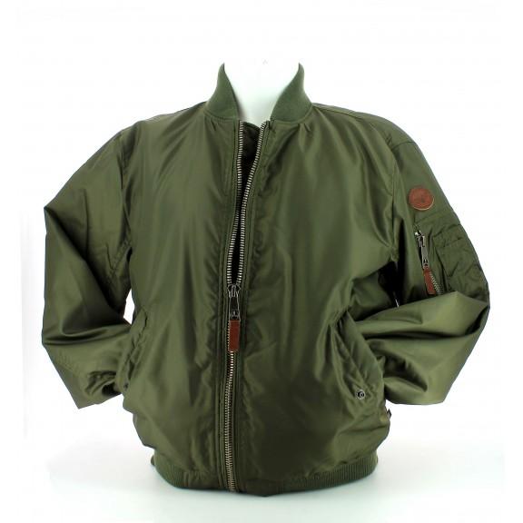 Cazadora Bomber Top Gun nylon jacket verde