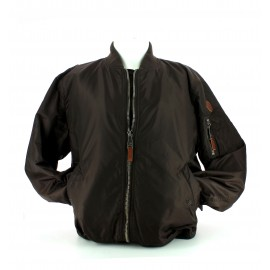 Top Gun mens woven nylon jacket brown
