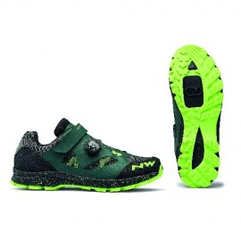 Zapatillas Northwave Terra Plus verde gables-amarillo