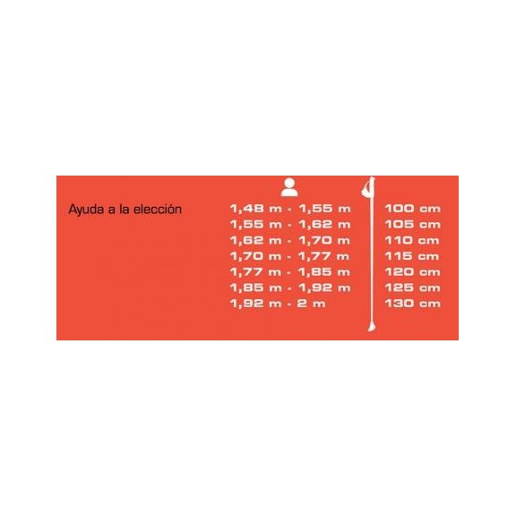 Baston Nordic Walking Tsl Tactil C20 carbono rosa