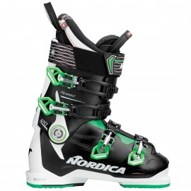 Botas esquí Nordica Speedmachine 120 blanco negro  hombre