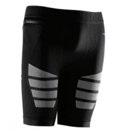 Mallas compresivas Sportlast corta negro/gris hombre