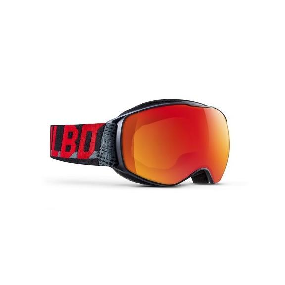 Mascara esquí  Julbo  Echo negro rojo cat 3 junior