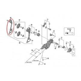 Portapoleas interior Shimano cambio M7000 GS 11 velocidades