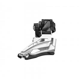 Desviador Shimano Deore 10 x2 velocidades 34/28 abradera baj
