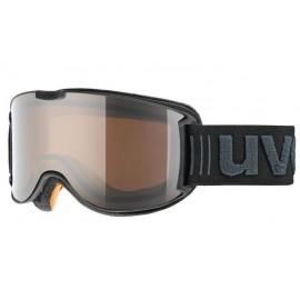 Mascara esquí  Uvex Skyper Polar black met mat S2